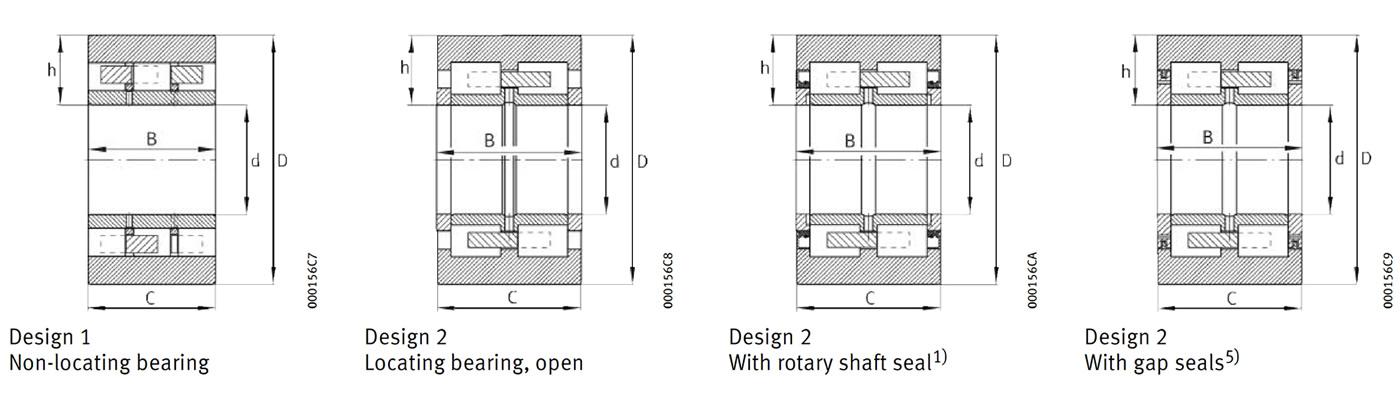 Big size Sendzimir mill bearing, Back-up Roller bearing - (Replace FAG)